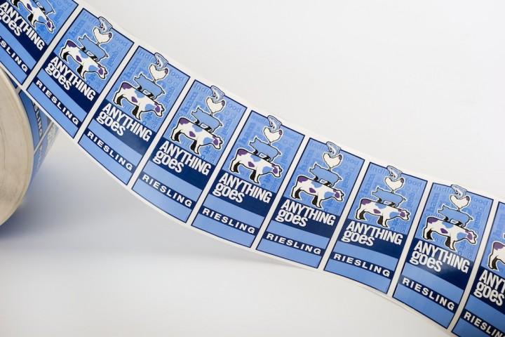 Etikettengalerie Rollenhaftetikett Etikettendruckerei