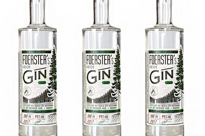 Etiketten für Gin - Männerhobby