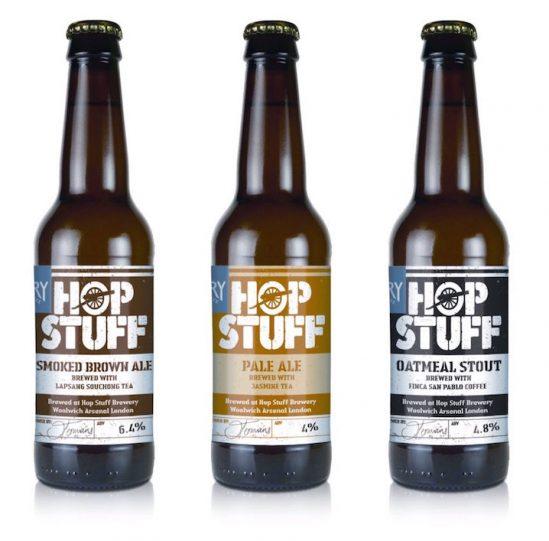 Hop-Stuff-Drury-Labels Etikettendruck Rollenetiketten