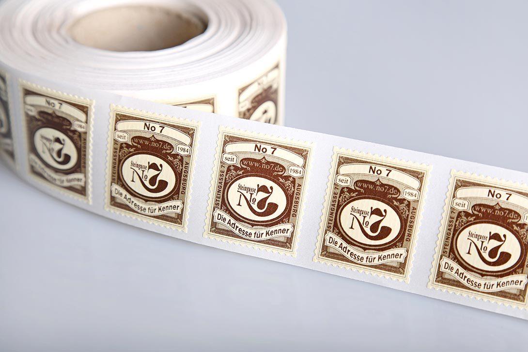 Rollenetiketten Etikettenhersteller
