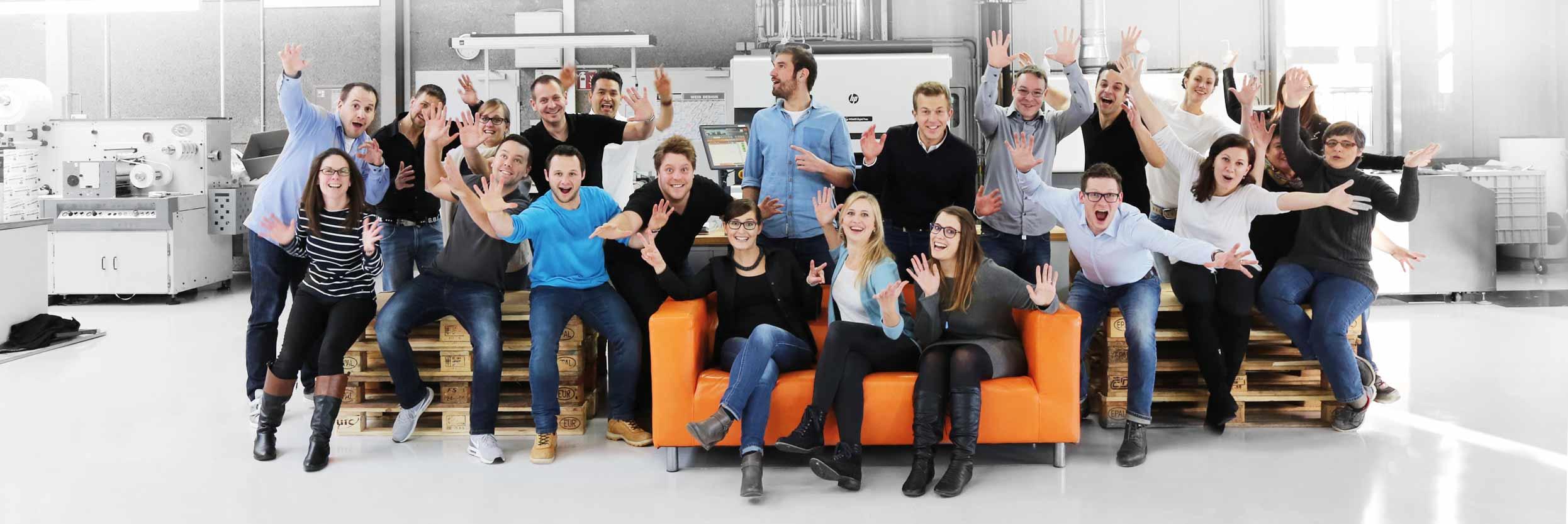 Arbeiten für den Etikettenhersteller etikett.de |Bewirb Dich jetzt