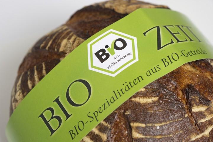 Brotbanderole grün bio
